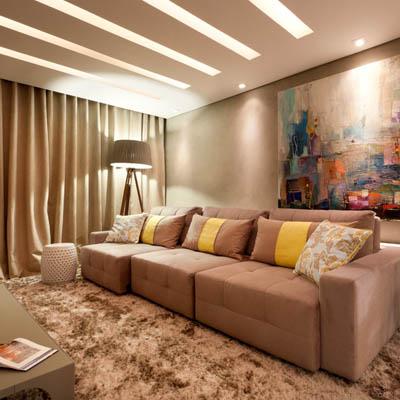 Iluminação residencial em Santos